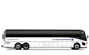 MCI 55 Passenger Bus