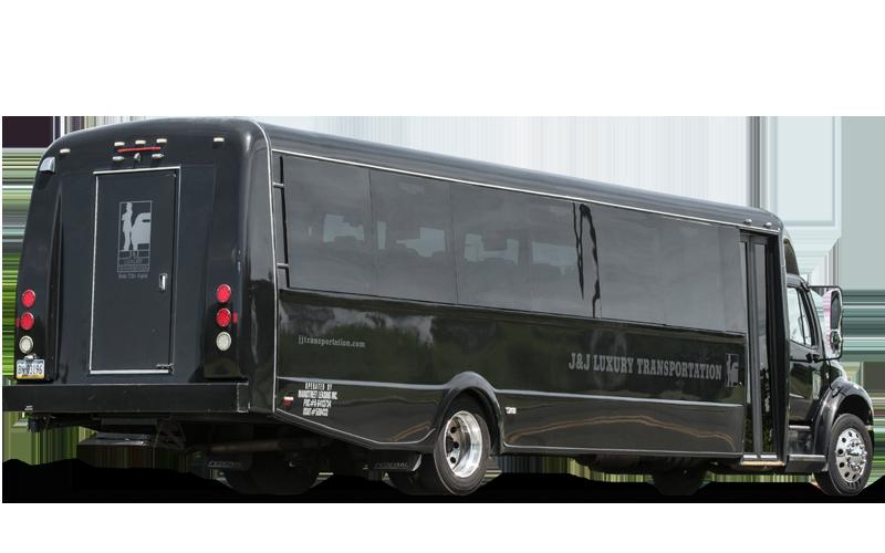 Freightliner 35 passenger bus - Black