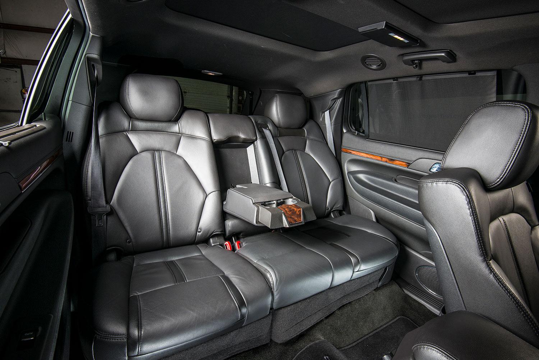 Interior. Lincoln MKT Sedan Good Looking